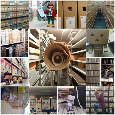 #ArchiveShelfie_collage_AskArchivists_FollowAnArchive
